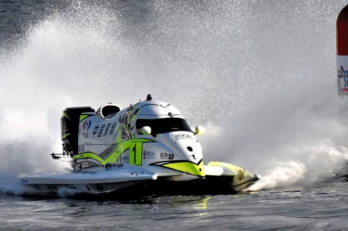 Motonautisme – Formule 1 : Chiappe vers le triplé