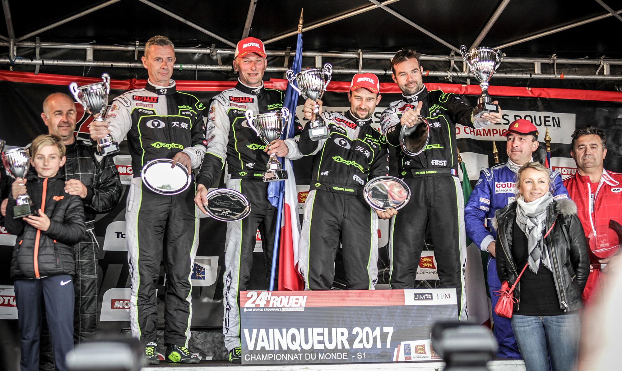 24h motonautiques 2017 : victoire du team Nollet