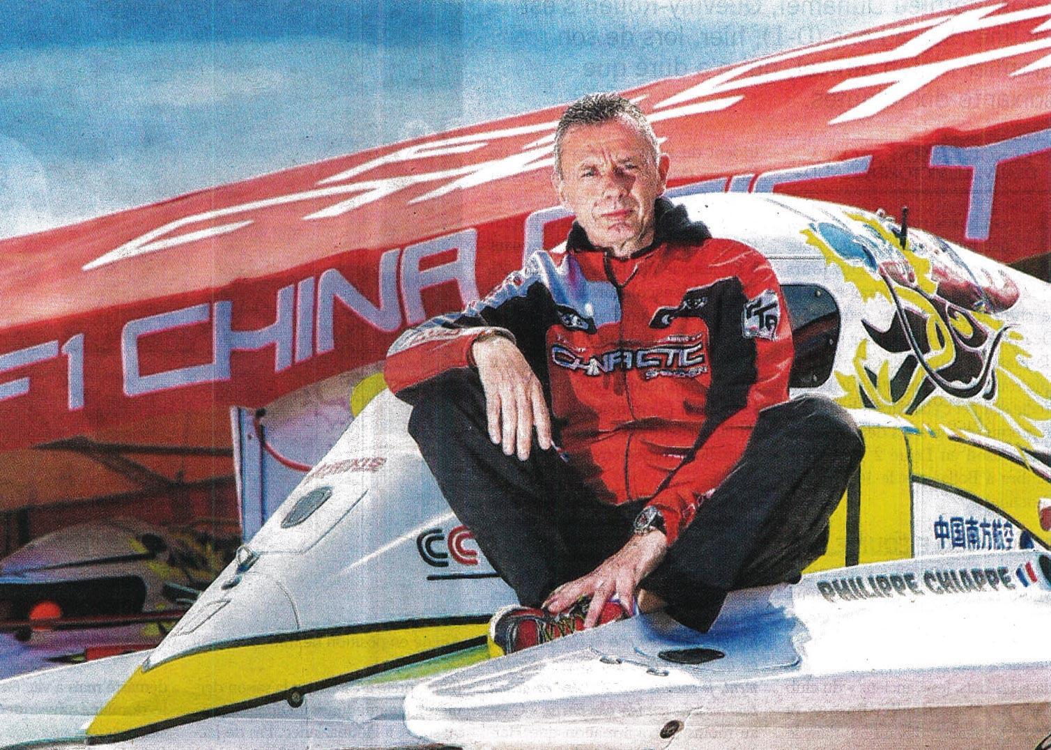 Motonautisme Formule 1 – Chiappe les bluffe tous
