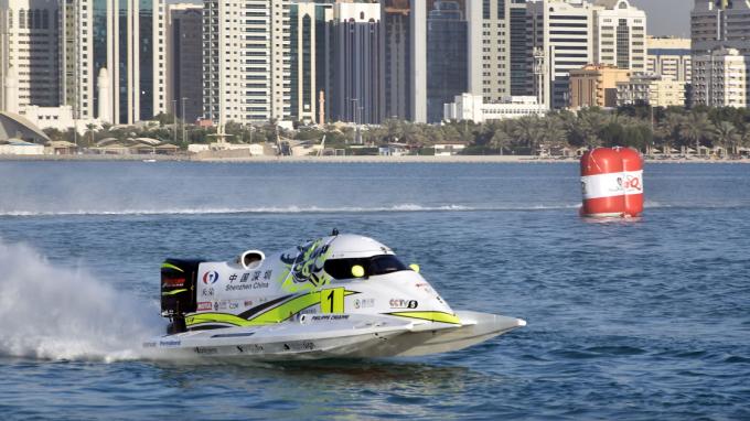 France INFO : Motonautisme : le Rouennais Philippe Chiappe victorieux à Abu Dhabi